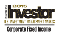 Corporate Fixed Income Institutional Investor Award