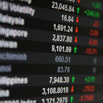 Markets electronic board