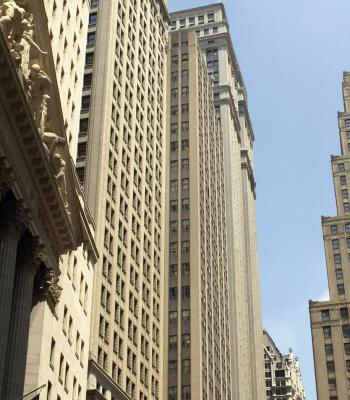 Wall Street buildings