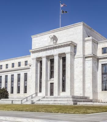 The Fed building