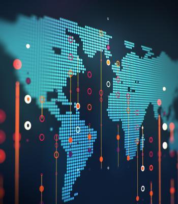 Electronic World Map